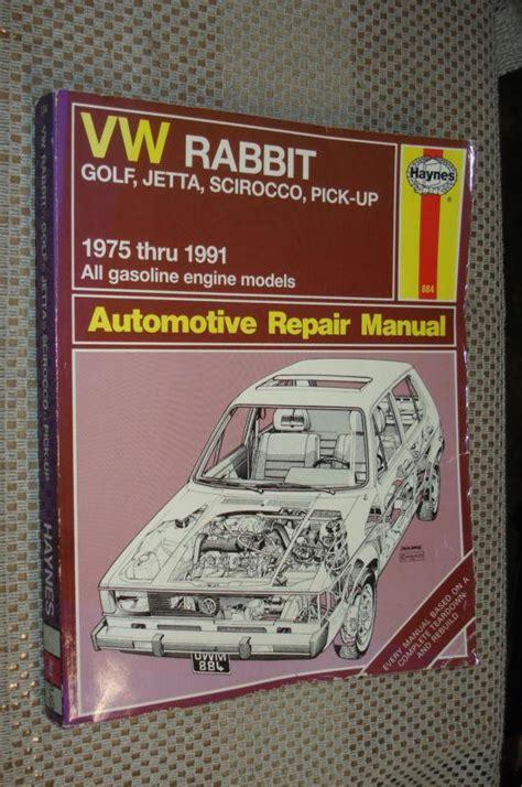 service manuals schematics 1991 volkswagen golf engine control purchase 1975 1991 vw rabbit scirocco jetta golf service manual shop book 76 77 78 88 89