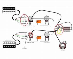 B51d9 Gibson Les Paul Standard Wiring Diagram Four