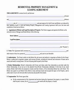 Property management agreement free copy rental lease for Property management documents forms