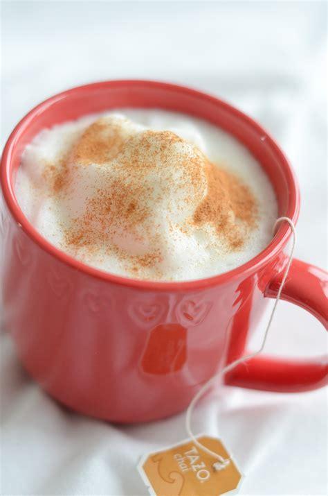 tea latte healthy chai tea latte recipe the chic life