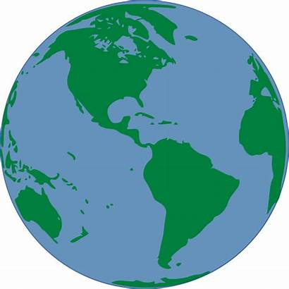 Map Clip Clipart Earth Cliparts Countries Global