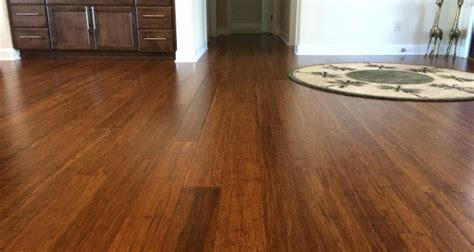 Beautiful Costco Carbonized Strand Bamboo Flooring • The