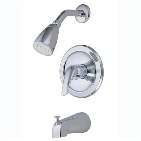kingston brass chatham 1 handle tub shower faucet at menards 174