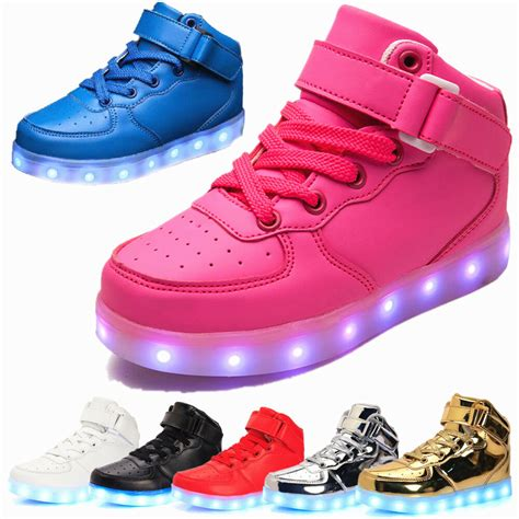 Boys Light Up Shoes by New Boys Led Light Up Shoes Sneakers Usb Charger