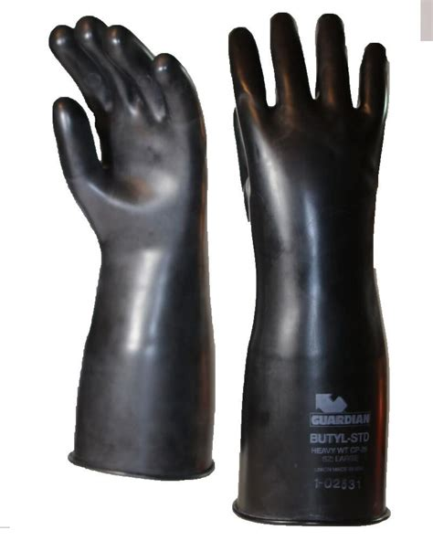 mil guardian smooth butyl chemical resistant gloves saraglovecom saraglovecom