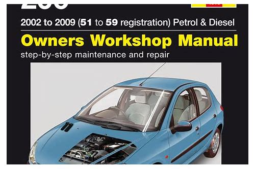 peugeot 206 1.1 manual download