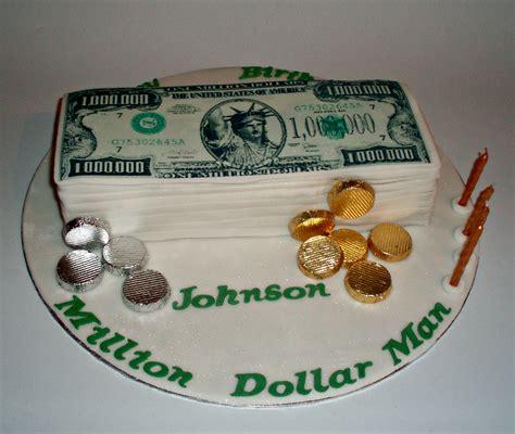 Million Dollar Birthday Cake