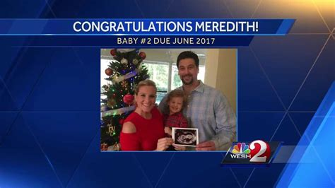 meredith mcdonough reveals shes pregnant   baby
