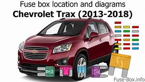 Fuse Box Location And Diagrams  Chevrolet Trax  2013-2018