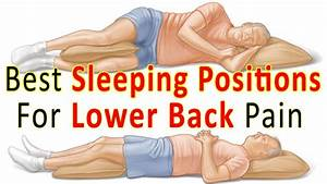 how sleeping could be giving you low back pain franklin With best resting position for back pain