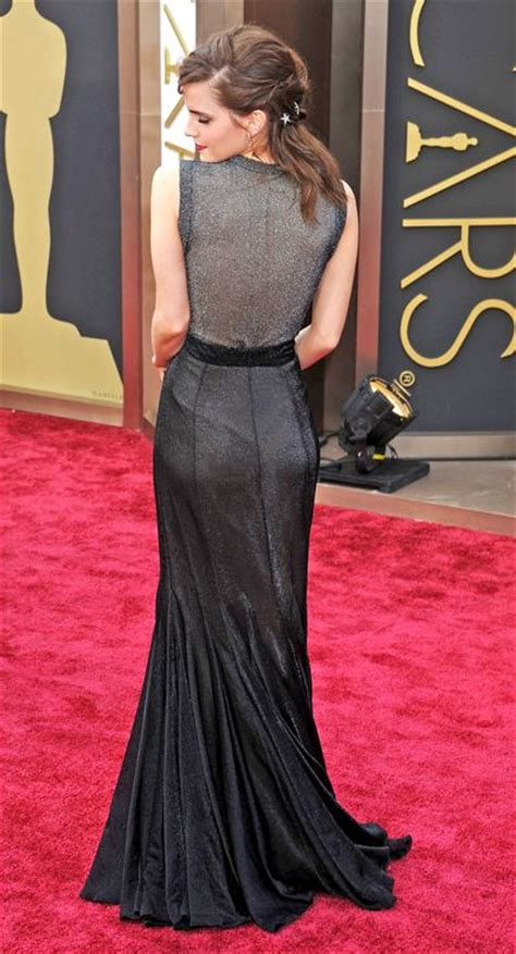 Oscars The Top Better From Back Gowns All