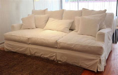 White Denim Sofa by Known As The Deepest In Seattle The Quot Jillian Quot For