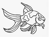 Goldfish Outline Clipart Library Clip Cliparts sketch template