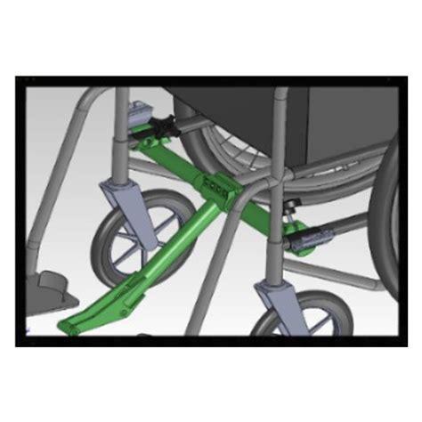 adaptateur roue freewheel pour fauteuil roulant pliant sofamed