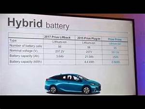 2017 Toyota Prius Prime Battery And Pricing