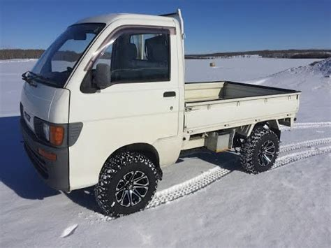 Hijet Mini Truck by Daihatsu Hijet Mini Truck Ride Along