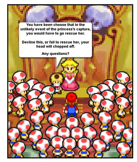 princess filler filler house comics the real reason why mario rescues