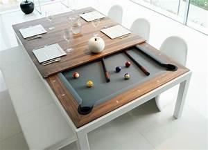 Table À Manger Billard : table de salle a manger qui fait billard ~ Melissatoandfro.com Idées de Décoration