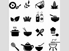 Cooking Icons Free vector in Adobe Illustrator ai AI