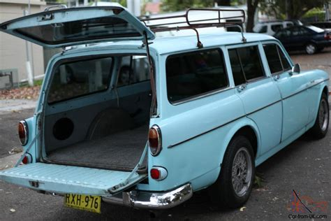 volvo  amazon wagon  original light blue vw