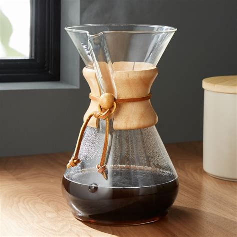 chemex  cup coffee maker crate  barrel