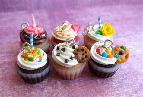 polymer clay cupcake charms  littlesweetdreams  deviantart