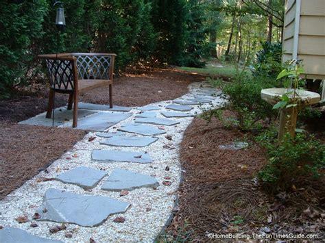 walkway stones diy stepping stone walkway ideas tips to build stone walkways yourself fun times guide to