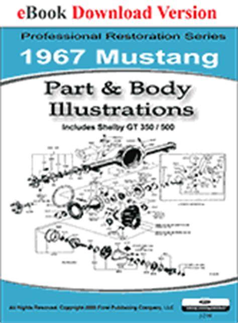 book repair manual 1972 ford mustang auto manual 1967 mustang shop manual