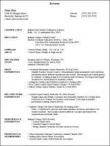 resume for the my resume templates