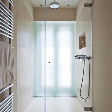 narrow bathroom ideas uk space saving bathroom with large format tiles en suite