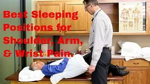 Best sleeping position for shoulder arm wrist pain for Best sleeping position for shoulder pain
