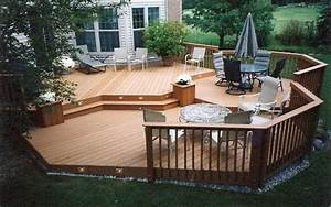 Deck patio ideas small backyardspatio 2017 and for yards for Deck and patio ideas for small backyards