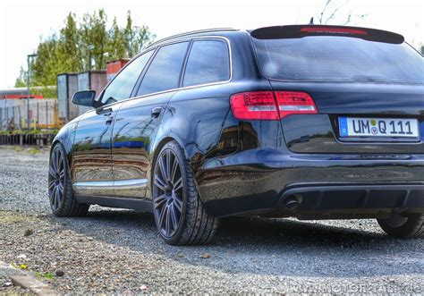 audi a6 4f tuning audi a6 c6 4f avant becquet aileron tuning s line s6 rs6