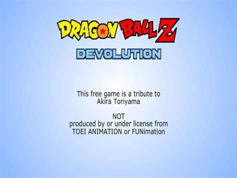 dragon ball z devolution 2013 descargar para xo