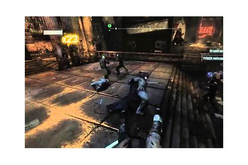descargar batman arkham city 2011 gameplay