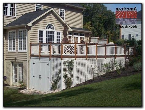 deck storage shed best 25 deck storage ideas on deck