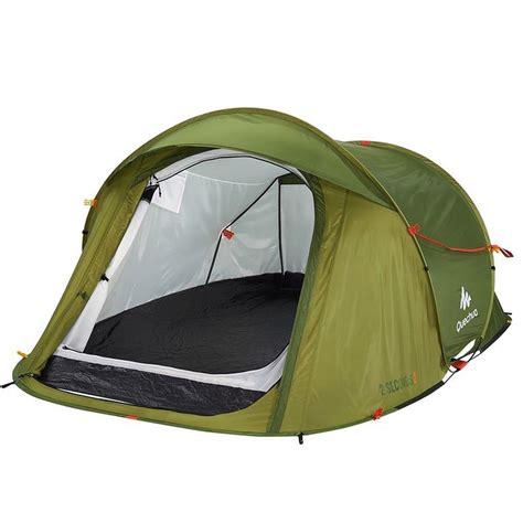 tente 4 personnes 2 chambres quechua 2 seconds pop up tent the green