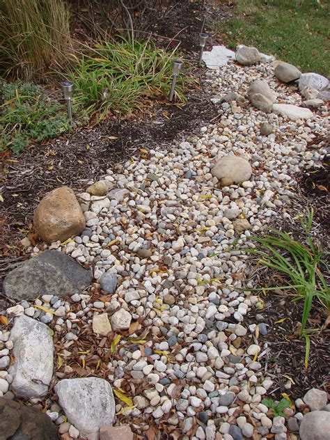 build  dry stream bed indiana gardening web articles
