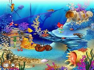 Free Aquarium Screensaver - Animated Aquaworld ...