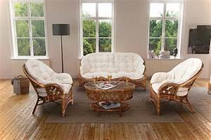 Salon Jardin Rotin : ensemble de salon en rotin hold ensemble en rotin pas ~ Melissatoandfro.com Idées de Décoration