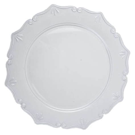 Wall plate guide light wall plate screwless wall plate cat6 wall plate seagrass wall plate wall plates ceramic decorative plates for walls brush wall plate wicker wall plate wall plate decor av wall plates rattan wall plate wholesale cheap handmade blown murano glass decorative wall art plates. White Round Classic Edged Decorative Plate - 33cm Diameter | Decorative plates, Cheap party ...