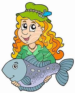Woman Fishing Clipart | Clipart Panda - Free Clipart Images