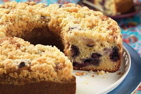 love  blueberry coffee cake  lemon streusel