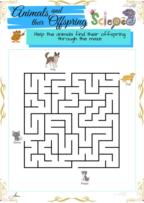 grade  science puzzles animals   homes part