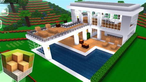 block craft free block craft 3d mobile gameplay easy modern house 1146