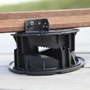 Plot Reglable Terrasse : poser une terrasse en bois sur une dalle en b ton blog ~ Edinachiropracticcenter.com Idées de Décoration
