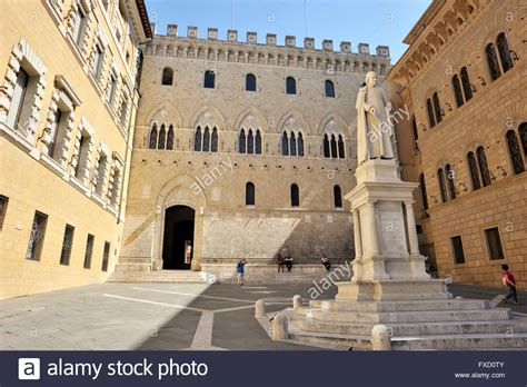 Dei Paschi Di Siena Italy Tuscany Siena Palazzo Salimbeni Monte Dei