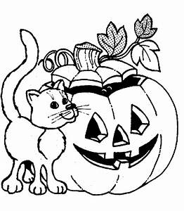 printable halloween coloring pages - cat halloween coloring pages free printable coloring pages