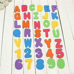 buy 36pcs foam letters and numbers eva baby bathtub With where to buy foam letters