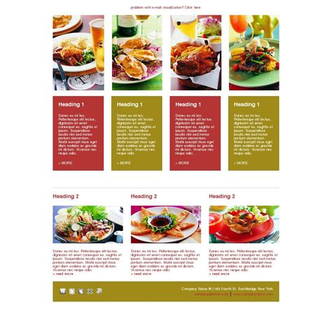 newsletter cuisine 6 tips to your restaurant newsletter more enticing